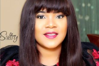 [Pictures] Toyin Abraham Rocks Her Wedding Ring in Style