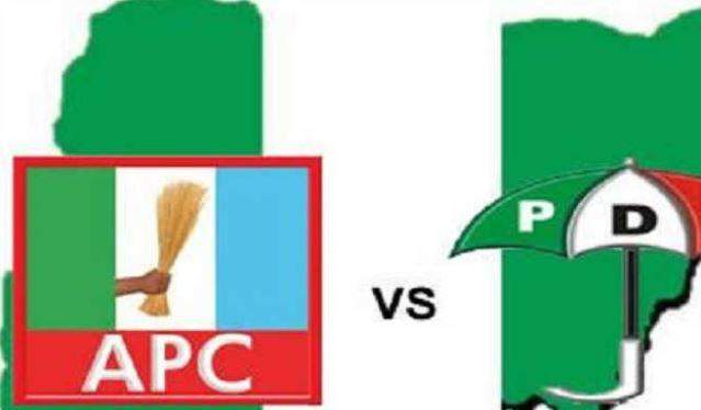 defection pdp battles crises in kano kwara benue five other states - KanoDecides: Tension mounts on APC in Kano as PDP leads