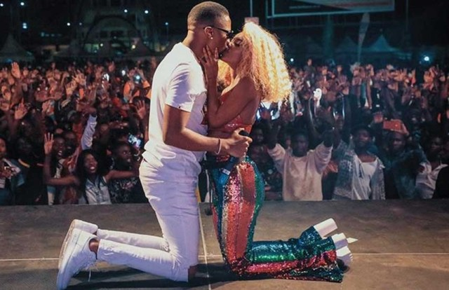 Candy TV -  Online Entertainment Tv Tanzanian Singer, Vanessa Mdee In Trouble For Kissing Lover On Stage