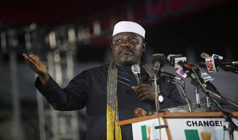 """""""I am more favoured to become the first Igbo President"""" - Governor, Rochas Okorocha"""