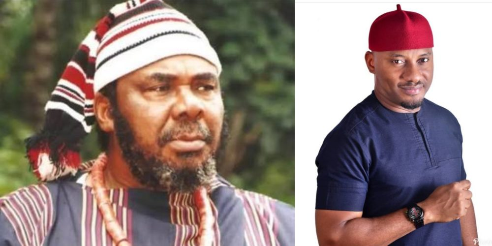 Yul Edochie Reacts As Dad Says Nigerian Men Who Kneel To Propose Are Fools