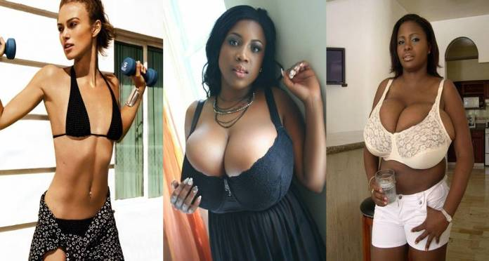 Poor men love big breasts, the rich prefer them smaller — Study shows