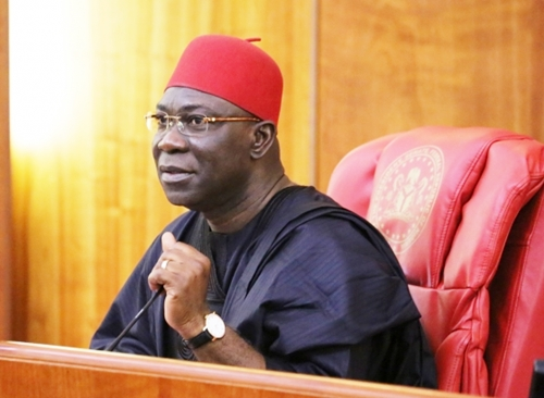 Ike Ekweremadu, on Tuesday said he ran for office of deputy senate president to make not to win or lose but to make a statement.