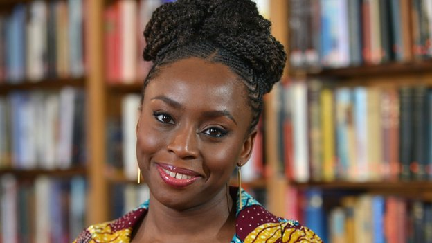 Chimamanda Adichie - Chimamanda Adichie Hosts Black Panther Star, Lupita Nyong'o In Lagos (Video)