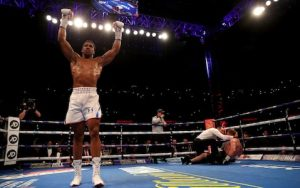 anthony joshua knocks out alexander povetkin in the seventh round to retain world heavyweight titles - [Video]: Have A Look At The Interior Of Anthony Joshua's House