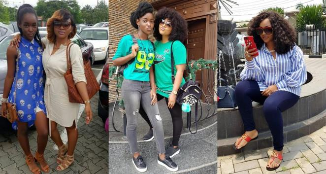 Image result for mercy aigbe and daughter