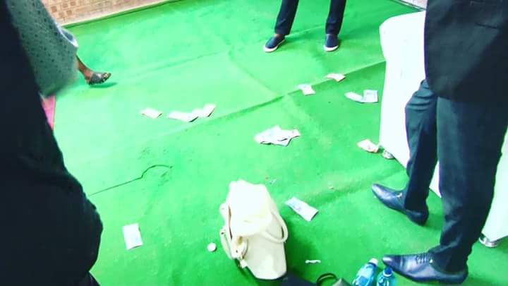 """pastor vomits miracle money during church service video 3 - Pastor vomits """"miracle money"""" during church service (Wacth Video)"""