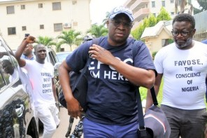 EFCC to storm my house in search of Atiku's election money – Fayose cries out