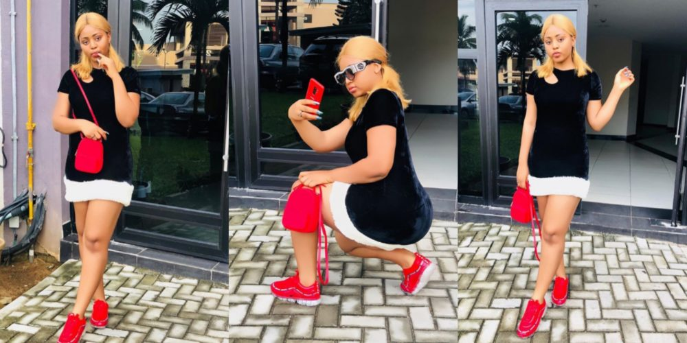 "be good to people for no reason regina daniels tells her fans as she shares some new photos on her ig page - [Pictures]: ""Am A Boss In My Own Little Word"" – Regina Daniels Brag As She Step Out ""All Sweet"" In A Rare Photo"