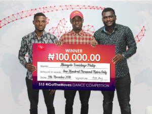 2 - ITEL MOBILE'S #IGOTTHEMOVES DANCE FINALE: WHO TOOK HOME THE N500,000 PRIZE?