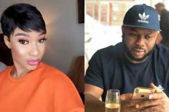"""You Glow Differently When You Are Not Hating"" – Olakunle Churchill Shades Tonto Dikeh"