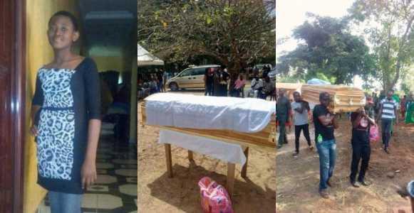 Tears flow as Ochanya 13 year old rape victim is buried - Ochanya: Court remands aunty in prison