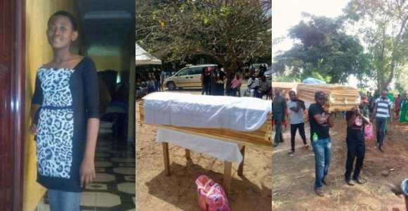 Tears flow as Ochanya 13 year old rape victim is buried - Ochanya: Court remands aunty in prison