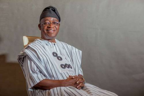 breaking news oyetola sworn in as new osun state governor - Accept Gods will and Vacate Seat -Davido urges Oyetola