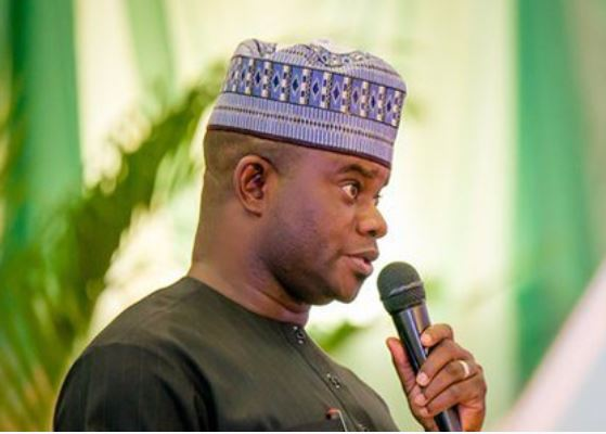 kogi governor yahaya bello donates n7m to churches - Gov Yahaya Bello has activated the button of intimidation and fear