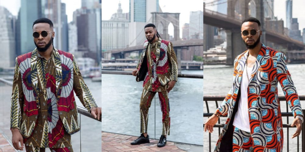 Lovely photos of Nigerian music star Flavour on his 35th