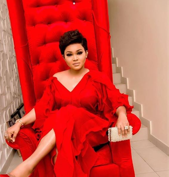 mercy aigbe looks gorgeous in red dress you wont believe shes 40 photos - Who Will Surrender To My 'Ileke' This Valentine – Mercy Aigbe