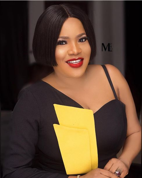 """Stop Shaming People About Getting Pregnant"" -Toyin Abraham Advises Fans"