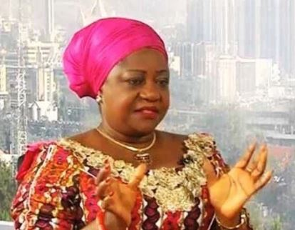 buharis spokesperson lauretta onochie busted using fake photos to lie against atiku abubakar - PDP 'dopey' spokesperson now very obsesses with Amina Zakari – presidency