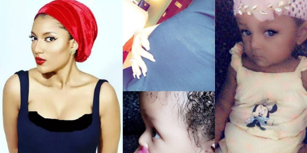 gifty powers shares first photos of her daughter who was born months after leaving the big brother house - BBNaija's Gifty finally reveals the true identity of her baby daddy