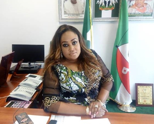 Image result for House of Reps: Igbinedion's daughter loses to APC