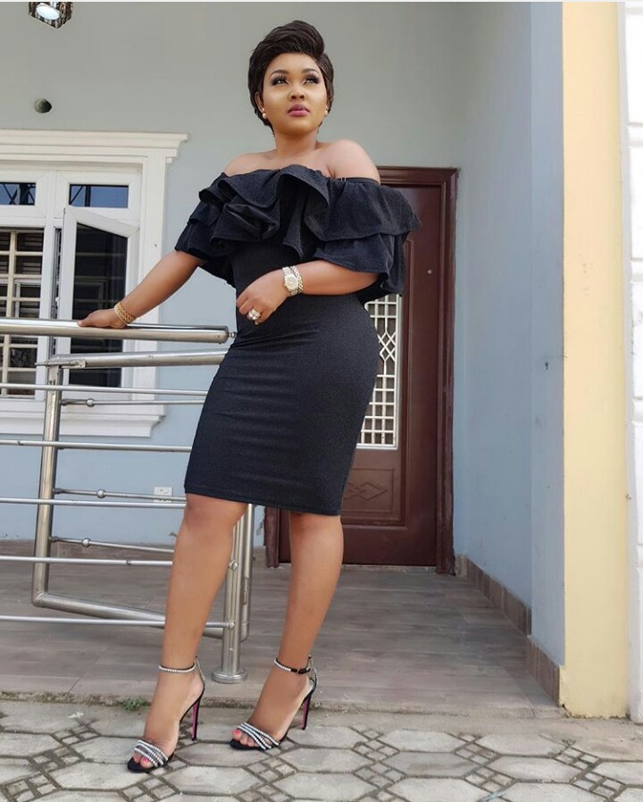 mercy aigbe acquires a brand new toyota prado - What Nollywood Actress, Mercy Aigbe, Has To Say About This Picture Is A Must Read