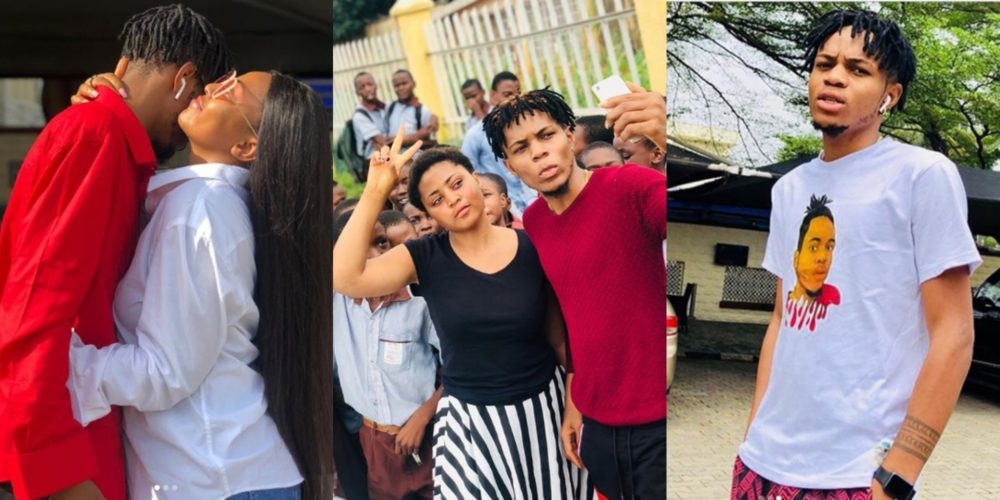 """""""Ned Took You From Me"""" – Sammy West Tells Regina Daniels (Picture)"""