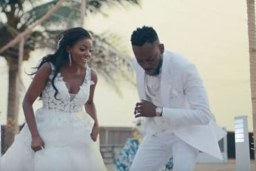 Adekunle's Message To Simi As They Celeberate First Birthday As Mr And Mrs Kosoko Is Everything