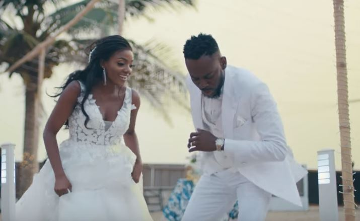 adekunle gold confirms marriage to simi - Adekunle's Message To Simi As They Celeberate First Birthday As Mr And Mrs Kosoko Is Everything