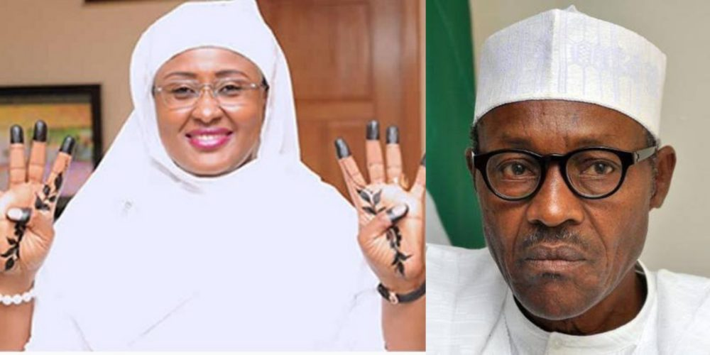 aisha takes buharis re election to the next level by getting her fingers tattooed photo - Just In: Aisha Buhari's new controversial message to Buhari stirs serious concerns