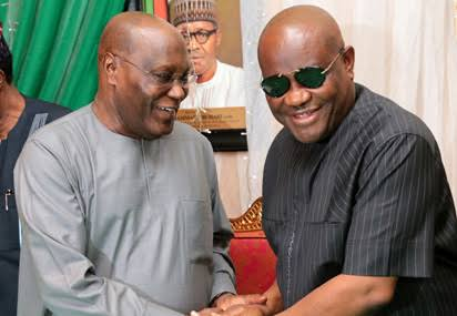 couple name their new born twins atiku and wike in rivers state - What Atiku and Ben Bruce said after Wike won his reelection