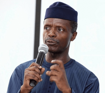 """fake news about me hanging out with strippers almost crashed my marriage vp osinbajo - Vice President Yemi Osinbajo Gifts """"Ailing"""" Actor, Baba Suwe, Cash"""