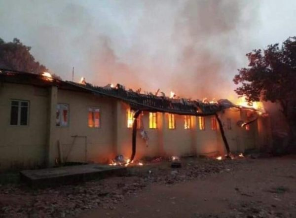 fire outbreak rocks imsu documents and properties destroyed photos - Tragic!!! Pregnant woman, 2 children burnt beyond recognition in Anambra