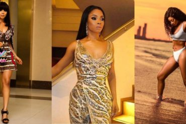 [Photos] Toke Makinwa Gushes About Train Ride Experience in Nigeria