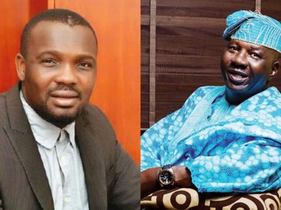1 19 - Yomi Fabiyi gives an update on the health situation of actor Baba Suwe