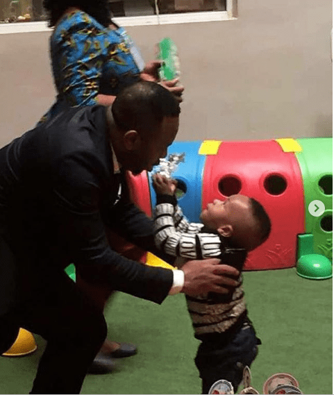 1 28 - I leave your case for God to judge – Olakunle Churchill celebrates his son