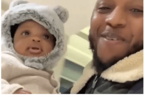 I am now a father – Yungsix reveals, shares video of his new son