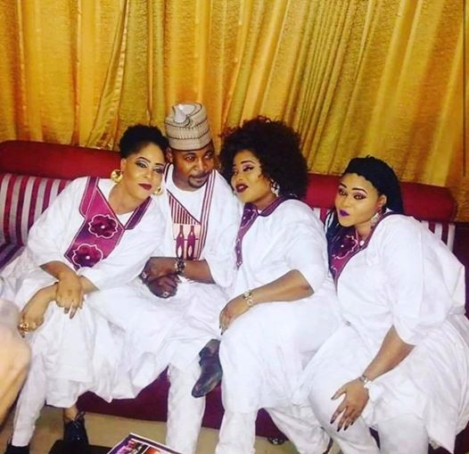 1 6 - I will never make you cry – MC Oluomo celebrate his three wives on Valentine's day