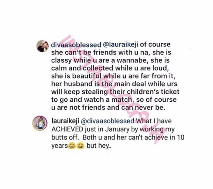 1 7 - Laura Ikeji blasts Amara Kanu again, says what she has achieved in years, Amara is yet to
