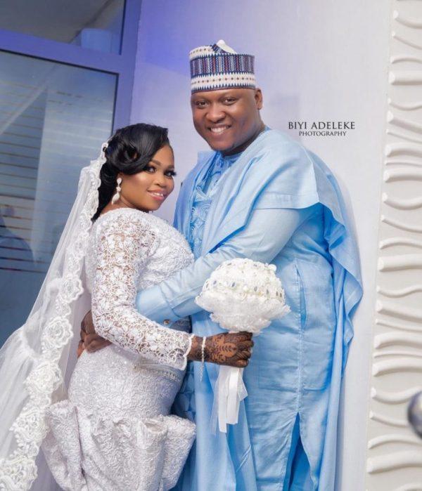 1 9 - See photos of actress Tawa Ajisefinni as she ties the knot in Ibadan