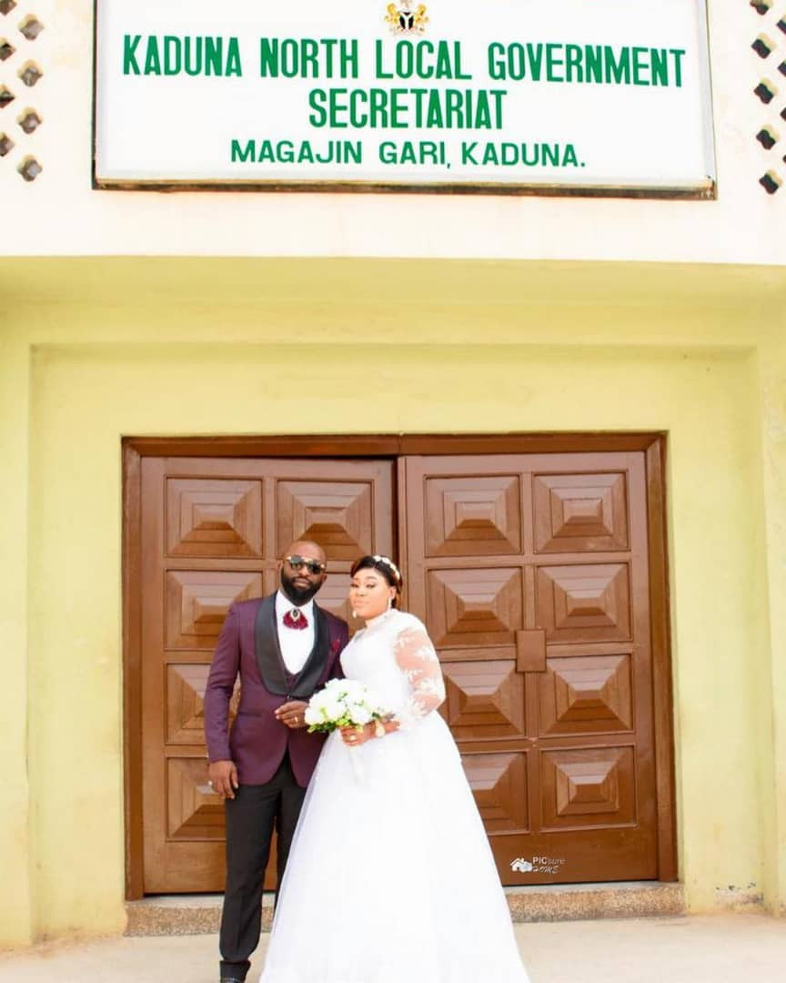 2 3 - See photos from the wedding of actress Maryam Charles and Mohammed Adebola Sulyman