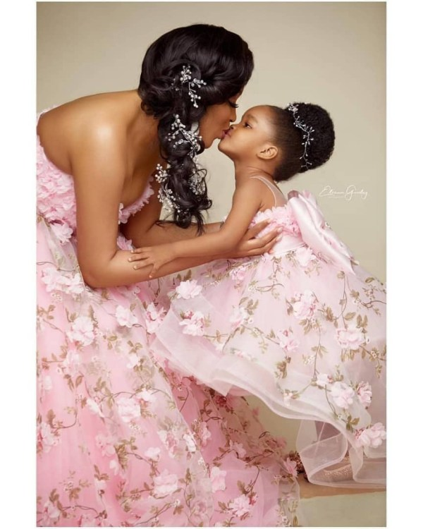 2 6 - Just adorable! Dabota Lawson and her daughter redefines beautiful mother-daughter photoshoot