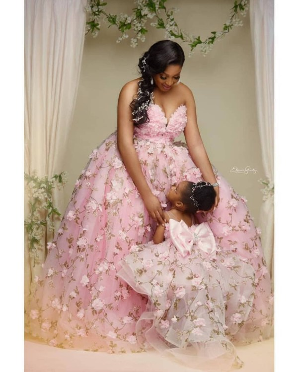 3 5 - Just adorable! Dabota Lawson and her daughter redefines beautiful mother-daughter photoshoot