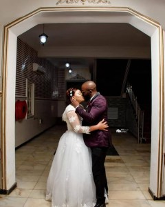 4 1 - See photos from the wedding of actress Maryam Charles and Mohammed Adebola Sulyman
