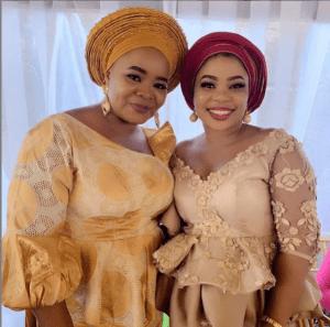 4 4 - Bimbo Oshin, Seyi Edun, attend Tawa Ajisefinni's wedding (Photos)