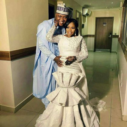 5 - See photos of actress Tawa Ajisefinni as she ties the knot in Ibadan