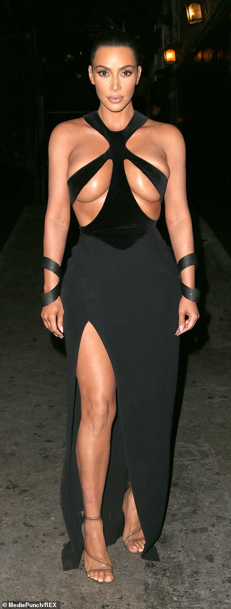 9943364 6715975 Wow The Keeping Up with the Kardashians star added a couple extr m 39 1550474717535 - See the outrageously revealing dress Kim Kardashian was spotted in