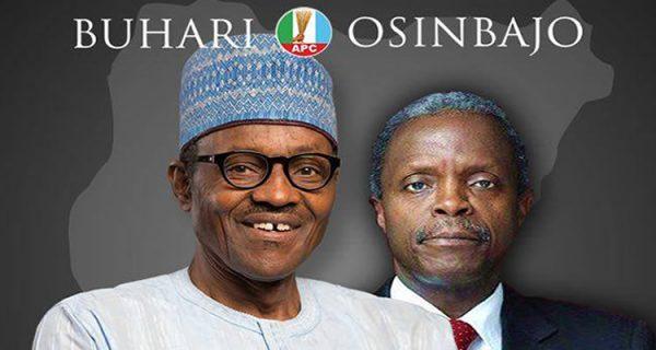 "Buhari Osinbajo 1 - ""Go and defend your vote on Saturday"" – Buhari advise"