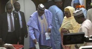 D0Eou2GWsAEOoUZ - #NigeriaDecides: President Buhari Cast Ballot Early in Daura