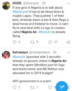 Screenshot 20190220 1845052 - 'WHERE IS NIGERIA AIR?'- NIGERIANS REACT